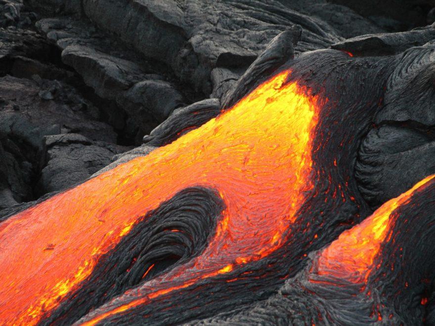 Der Vulkanausbruch auf Costa Rica