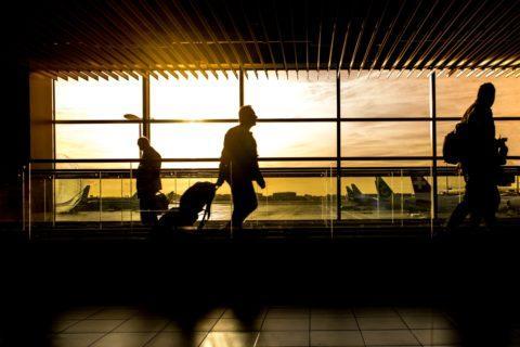 Flughafen Geschaeftsreise